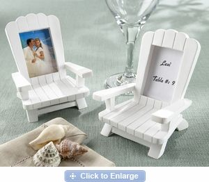 Adirondack chair picture frame