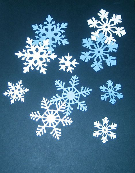 Snowflake Paper Die Cuts