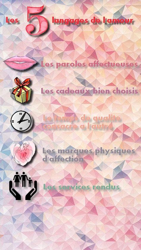 Les 5 Langages De L'amour Test : langages, l'amour, Langages, L'amour, Amour,, Langage,