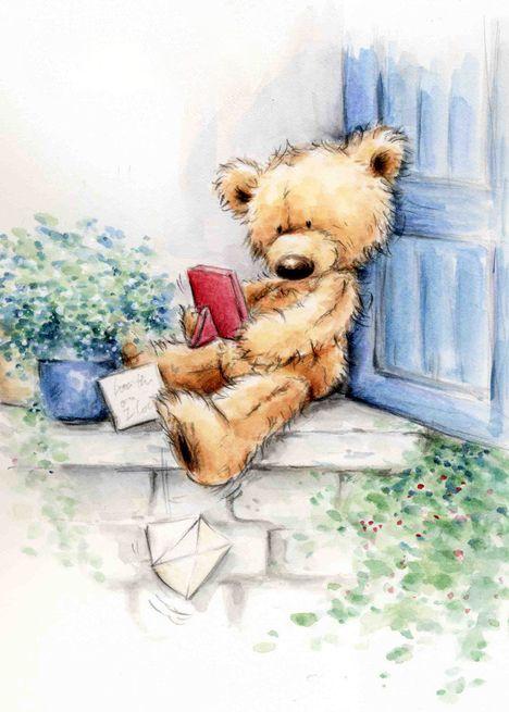 ** j'ai enfin trouvé un coin tranquille pour regarder mes belles photos et lire mon courrier, bon après midi **