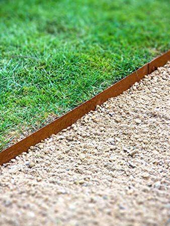 bordure pelouse bordure jardin metal