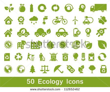 50 Ecology and recycle icons, vector set   icons website