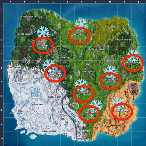 Wooden Pallets Locations Fortnite Map - Free V Bucks Hacks Ps4