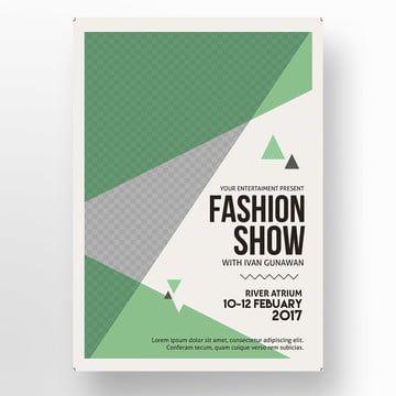 عرض أزياء ملصق Fashion Show Poster Fashion Show Party Poster Template