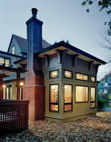 Arts Crafts Addition Craftsman Bungalow Exterior Craftsman Style Homes Craftsman Bungalows