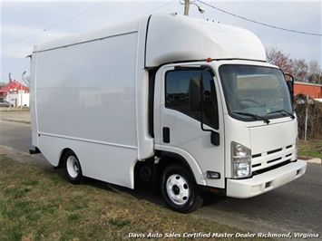 2011 Isuzu Npr Diesel Cab Over Supreme 12 Foot Work Box Van Cab Over Van Work Boxes