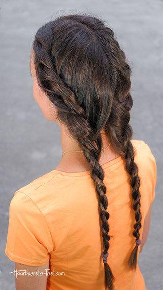 10++ Frisur zopf eingedreht Ideen im Jahr 2021