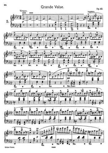 Op 64 No 2 Free Sheet Music By Chopin Pianoshelf Sheet Music Free Sheet Music Sheet