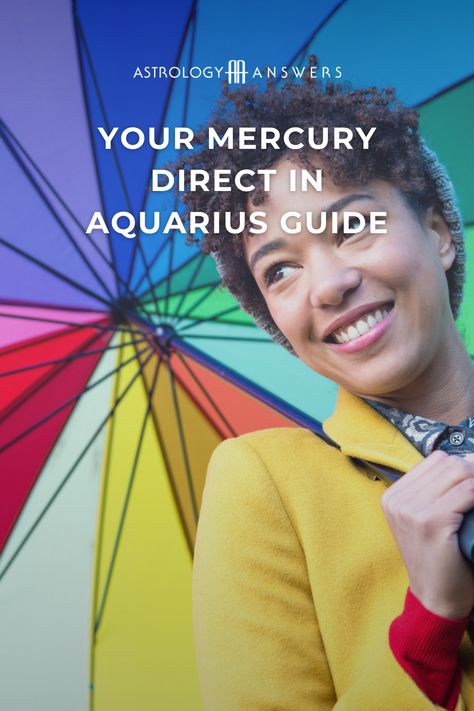 The first #Mercuryretrograde of 2021 is ending today - Huzzah! If you've been feeling off over the last few weeks, you're not alone, and we've got all the details on what to expect when Mercury goes direct. #mercurydirect #mercuryastrology #retrograde #astrology #astrologyanswers