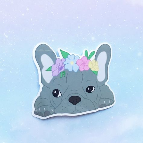 Pokemon Stickers Original French Bulldog Sticker Frenchie Bulbasaur Stickers