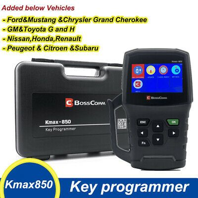 Ebay Advertisement Autek Kmax850 Upgrade Key Fob Programmer Immo Diagnostic Tool For Locksmith Obd2 Diagnostic Tool Key Programmer Car Key Maker