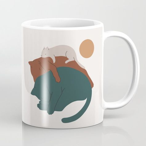 Our premium ceramic Coffee Mugs make art part of your everyday life. These cool cups also happen to be one of our most popular gifting items - because they're both useful and thoughtful.        - Available in 11oz and 15oz options    - Premium ceramic construction    - Wraparound artwork    - Large handles for easy gripping    - Dishwasher and microwave safe  Keywords: Illustration, Cartoon, Grizzly bear, Art, Marine mammal, Walrus.  Also called: Coffee Mug, Mug, Coffee Cup, Tea Cup, Tea Mug, Un