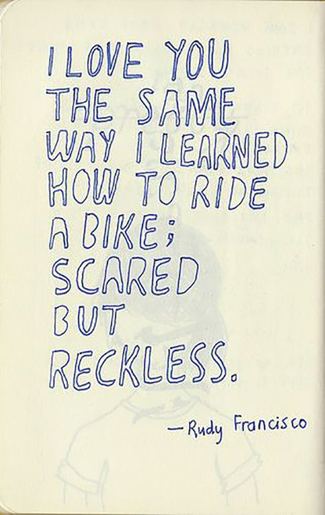 """It's just like riding a bike! 