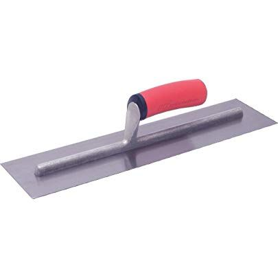 Marshalltown Ft144 14 X 4 Inch Finishing Trowel With Soft Grip Handle Marshalltown Polished Steel