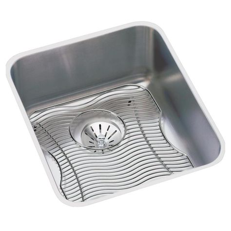 Stainless Steel Bar Sink Kit 16 Lustertone Elkay Eluh1316pdbg Bar Sink Stainless Steel Bar Stainless Steel Kitchen
