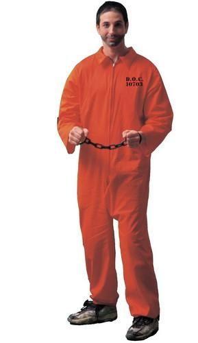 334e4ca54d0e Description  54105 Includes an orange prisoner jumpsuit with front zipper  and