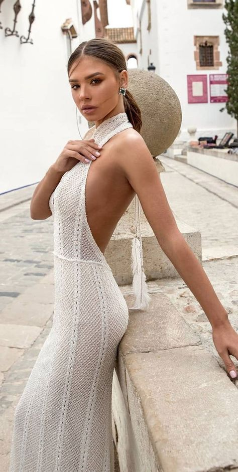 37 Trendy  Hot Sexy Wedding Dresses : wedding dress, wedding dresses, hot wedding dress, hot wedding dresses, sexy wedding dress , sexy wedding dresses, halter neck wedding dress