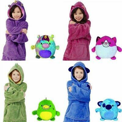 Advertisement Kids Huggle Blanket Pets Hoodie Blanket Hoodie