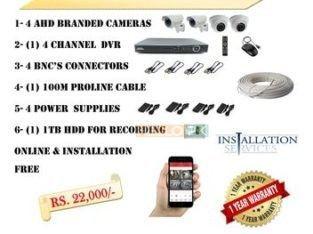 Cctv Cameras Packages Ahd Branded Cameras In 2020 Cctv Camera Camera Bnc Connector