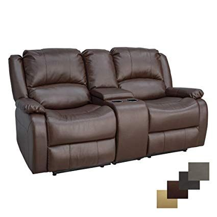 Double Recliner For Comfy Seating In The Living Room Reclining