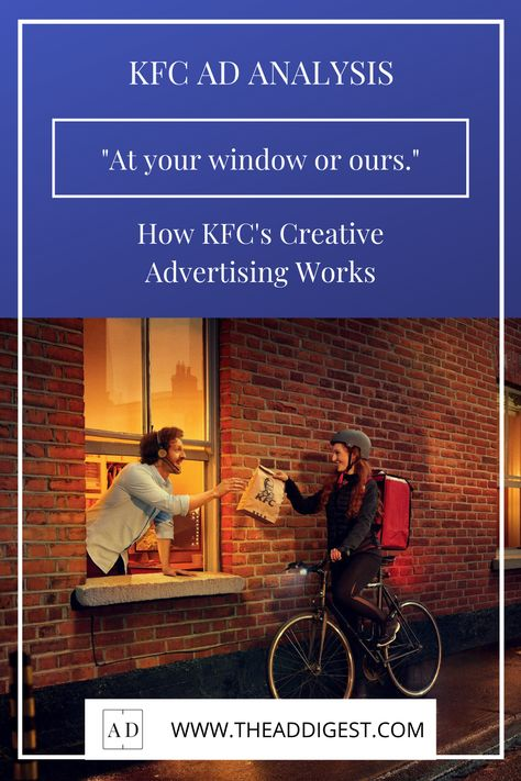 How KFC's Creative Advertising Works.
