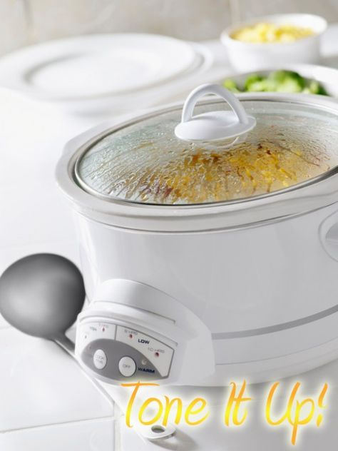Perfect for workdays and school nights! Healthy Crock Pot Recipes that DON'T use any cream soups :)