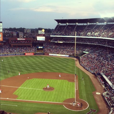 Turner Field Atlanta Braves Braves Atlanta Braves Baseball