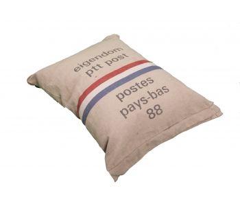 Dutch Decor Zitzak.Beanbag Made Of Original Dutch Ptt Postbags Zitzak Interieur