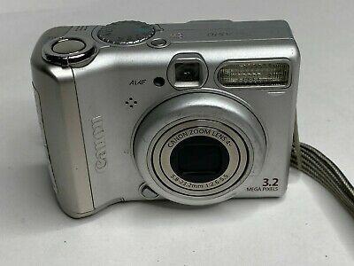 Canon Powershot A510 Digital Camera 3 2mp 1 8 Good Digital Camera Camera Powershot