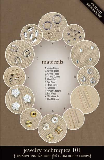 Jewelry Techniques 101  Learn the basics of jewelry making with this easy-to-follow illustrated guide.