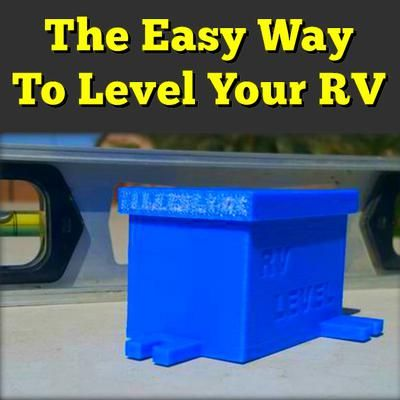 My Trailer Leveling Solution | Everything About RVing | Rv