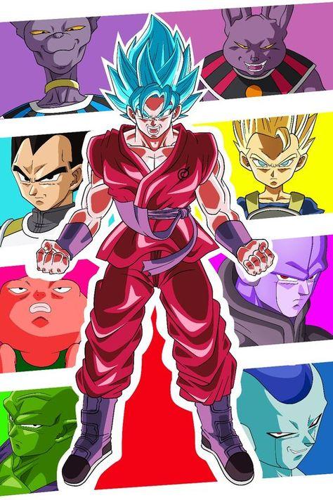 Dragon Ball Super Characters Anime Dragon Ball Super Dragon Ball Super Dragon Ball Z