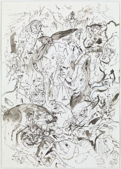 Paddle8: Animal, Vegetable or Mineral - Cecily Brown