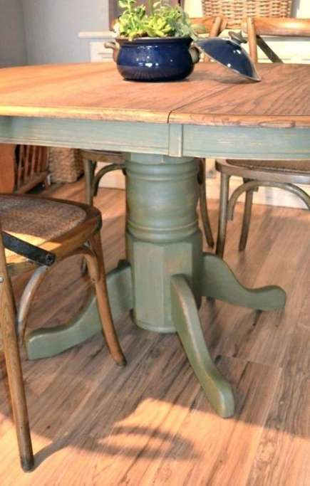 23 Ideas Diy Table Top Refinish Dining Rooms Diy Table Top