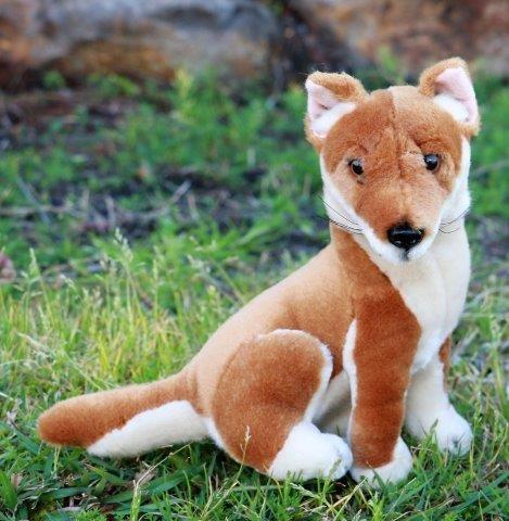 Dingo Stuffed Dog Toy 18cm And 25cm Australian Animal