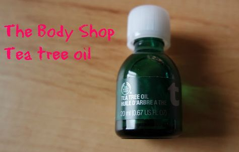 All things beauty: Tea tree olie van de body shop