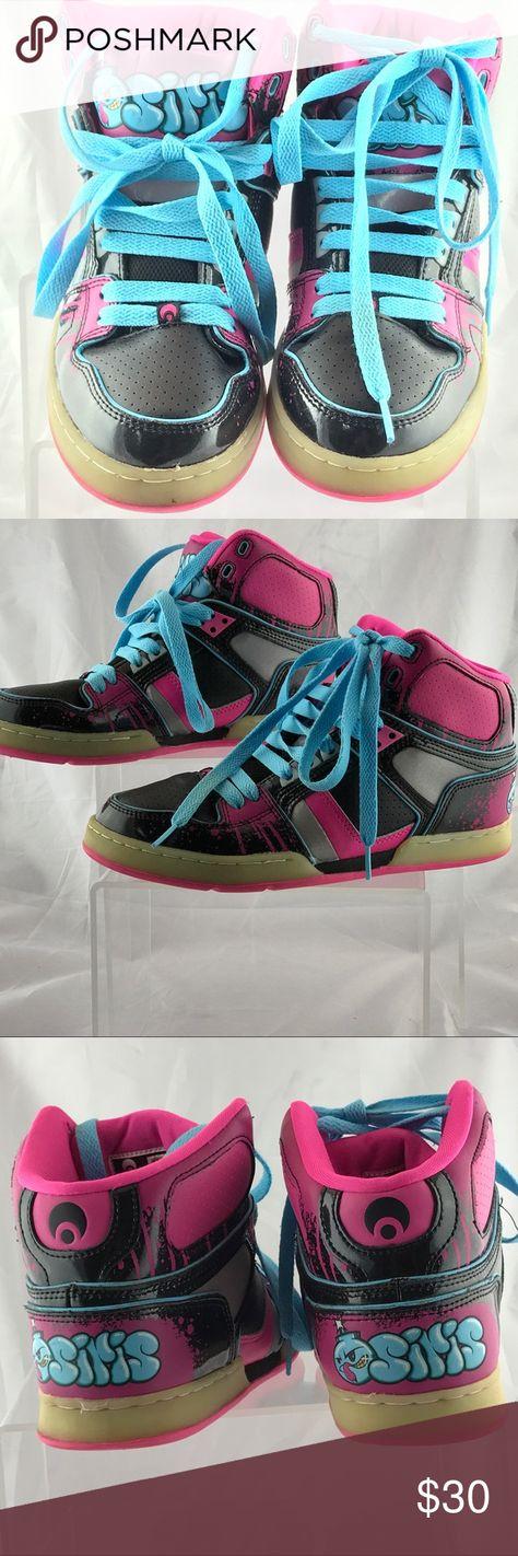 df58380c70 Osiris NYC 83 Slim ULT Girls Skateboard Ladies 9 Osiris skakeboard tennis  shoes ladies size 9