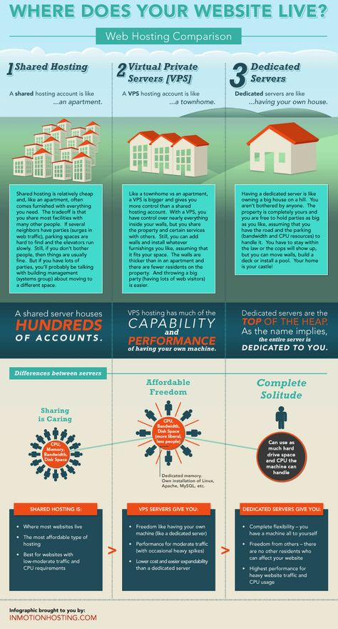 Picking A Host for Your Small Business Website (Infographic)