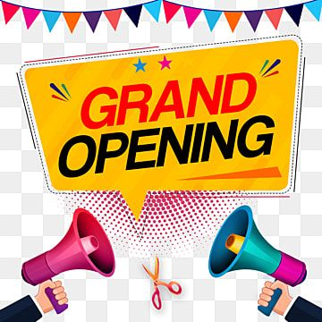Black Grand Opening Font Grand Opening Grand Open Png Transparent Clipart Image And Psd File For Free Download Grand Opening Clip Art Prints For Sale