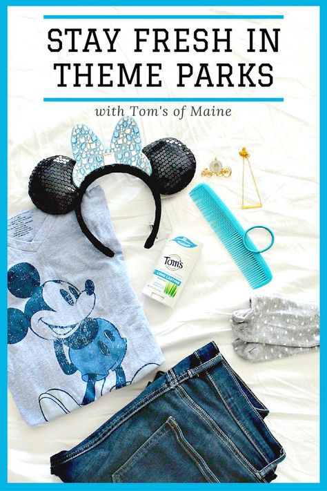 Stay Fresh in Theme Parks with Tom's of Maine - Redhead Baby Mama | Atlanta Blogger