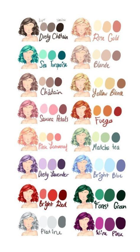64 Ideas Hair Drawing Reference Anime Art For 2019 Anime Art Artdrawingmermaid Drawing In 2020 Drawing Hair Tutorial How To Draw Hair Different Hair Colors