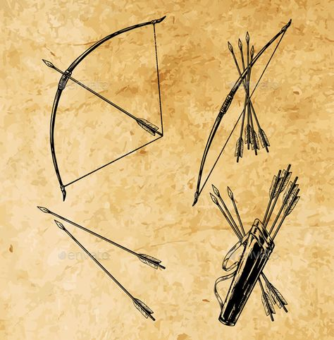Bow and Arrow unity. Stone for each arrow and charm for me and jay
