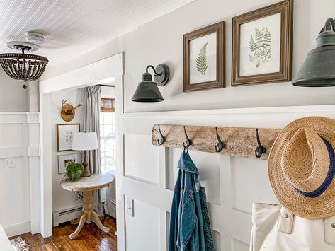 I'm happy to report that the project bug has finally started to kick in.   I've been thinking about doing this particular project for awhile...   Staircase Refresh Ideas - Rooms For Rent blog- Farmhouse Style Home   #farmhouse #staircase #project