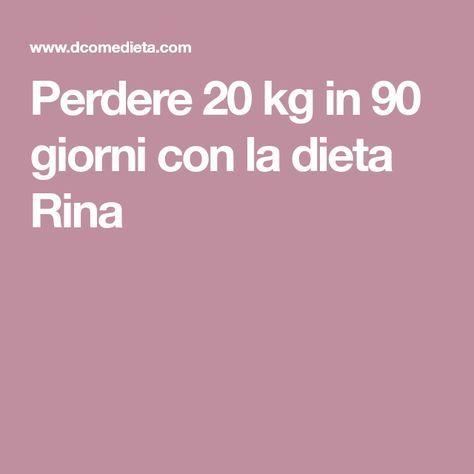 diete per dimagrire 20 kg in un mese