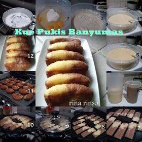 Dapurnya Rina Rinso Pukis Banyumas Ala Rina Rinso Snack Recipes Asian Desserts Indonesian Desserts