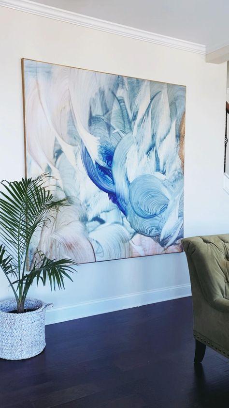 Living Room Artwork, Bedroom Artwork, Diy Artwork, Diy Wall Painting, Diy Wall Art, Diy Wall Decor, Room Decor, Canvas Wall Decor, Diy Canvas Art