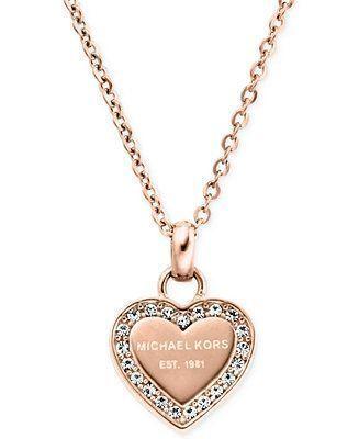 Crystal Fashion Heart Jewelry Kors Macys Michael Necklace Necklaces Pendant Watc Watches Macysmichaelkorswatch Necklaces Ne Pin Modeschmuck Halsketten Halskette Herz Und Mode Kette