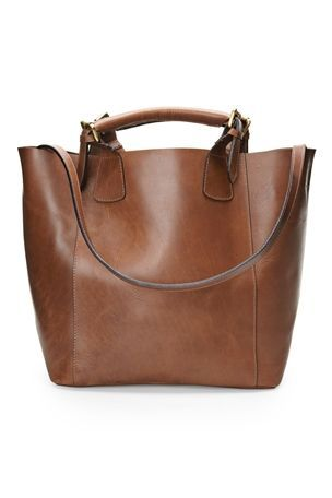 Chocolate Leather Tote £75