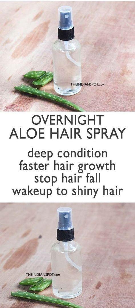 Aloe Vera Hair Spray for Faster hair growth