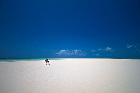 The sandbanks